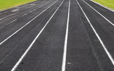 Free Running Track Royalty Free Stock Images - 18450649