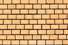 Brick Wall Of A House Royalty Free Stock Photos
