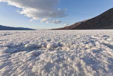 Free Badwater Salt Flat Royalty Free Stock Images - 18451639