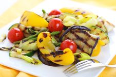 Free Grilled Vegetables Royalty Free Stock Photos - 18452808