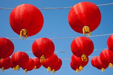 Free Red Lanterns Stock Images - 18453384