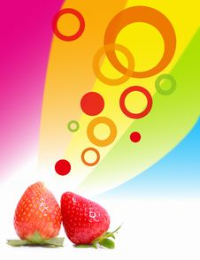 Free Spring Strawberry Royalty Free Stock Photos - 18453718