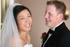 Free Bridal Couple Royalty Free Stock Photo - 18453775