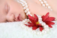 Free Pearl Baby Royalty Free Stock Photo - 18453875