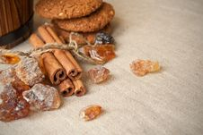 Free Still Life With Brown Sugar Royalty Free Stock Photos - 18454258