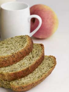 Free Slide Spinach Bread 2 Royalty Free Stock Image - 18454586