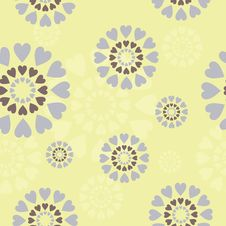 Free Seamless Background With Decor Circles Royalty Free Stock Photo - 18454775