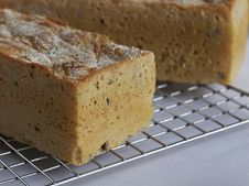 Olive Bread Loaf1 Stock Image
