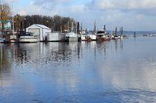 Free A Marina Environment. Stock Images - 18455364