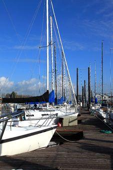 Free Moored Sailboats, Portland Oregon. Stock Photos - 18455853