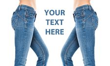 Free Female Legs In A Blue Jeans Royalty Free Stock Photo - 18456555