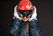 Free A Girl In Ski Clothes Stock Photos - 18456913