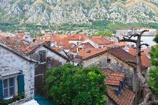 Free Kotor Rooftops Stock Photos - 18457093