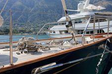 Free Luxury Yachts Royalty Free Stock Photo - 18457195