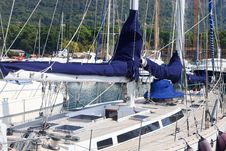 Free Sailboat Deck Royalty Free Stock Photos - 18457448