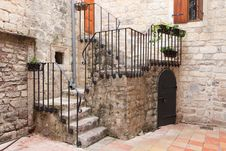 Free Kotor Stone Stairs Royalty Free Stock Images - 18457679