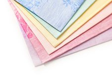 Several Different Towels Royalty Free Stock Photos