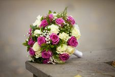 Bride S Bouquet Royalty Free Stock Image