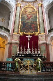 Free Hofkirche Dresden Stock Photography - 18459002