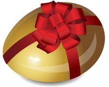 Free Gold Egg Royalty Free Stock Image - 18459086