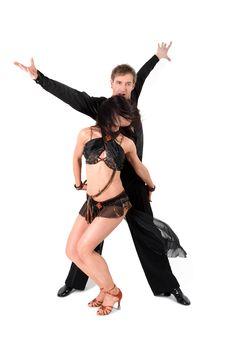 Free Dancers In Ballroom Stock Photo - 18459100