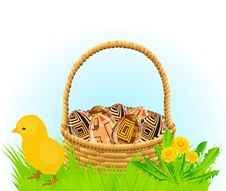 Free Easter Basket Stock Images - 18459114