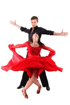 Free Dancers In Action Stock Photos - 18459133