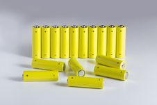 Free AA Batteries Stock Photography - 18459882