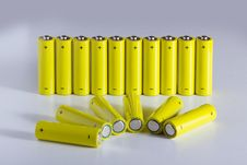 Free AA Batteries Stock Photography - 18459892