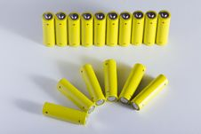 Free AA Batteries Stock Photography - 18459902