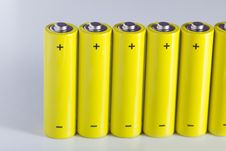 Free AA Batteries Stock Photos - 18459923