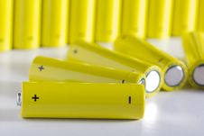Free AA Batteries Stock Image - 18459961