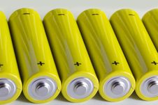 Free AA Batteries Stock Images - 18460034