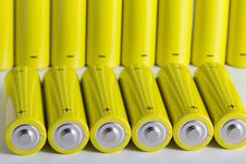 Free AA Batteries Royalty Free Stock Photography - 18460037