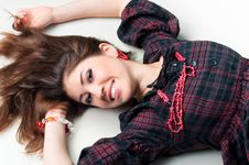 Free Beautiful Teenager Girl Royalty Free Stock Photos - 18460078