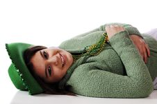 Free Relaxed On St. Patrick S Day Royalty Free Stock Photography - 18460167