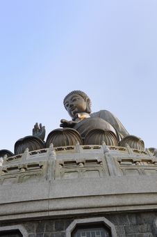 Free Tian Tan Bronze Buddha At Lantau Island, Hong Kong Royalty Free Stock Photography - 18460297
