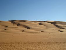 The Arabic Desert Royalty Free Stock Photo