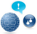 Free Chat Items -  Illustration Stock Photo - 18473550
