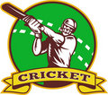 Free Cricket Sports Player Batsman Stock Photo - 18474890