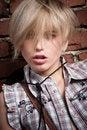 Free Beautiful Cowboy Blond Girl Royalty Free Stock Image - 18475086