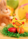 Free Colored Eggs Royalty Free Stock Photos - 18476738