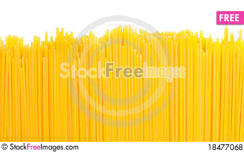 Free Uncooked Pasta Royalty Free Stock Photos - 18477068