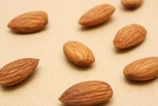 Free Almond Nuts Royalty Free Stock Image - 18471286