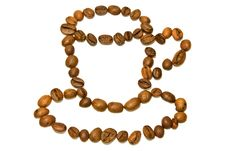 Free Cup Of Coffee Beans Royalty Free Stock Image - 18472706