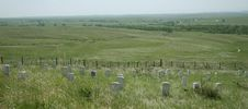 Free Vieuw Over Little Bighorn Battlefield Royalty Free Stock Image - 18472736