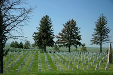 Little Bighorn Battlefield Stock Image