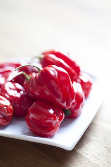 Free Red Hot Chili Peppers Stock Photography - 18474192