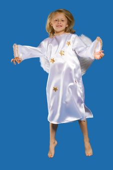 Free The Girl-angel Costumes Stock Image - 18474731