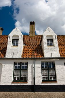 Free Old City Architecture, Brugge. Stock Photos - 18475143